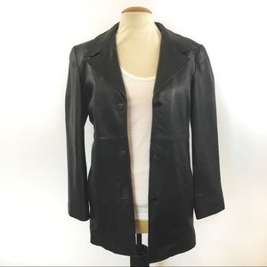 Perfecto Canada Leather Jacket Sz M